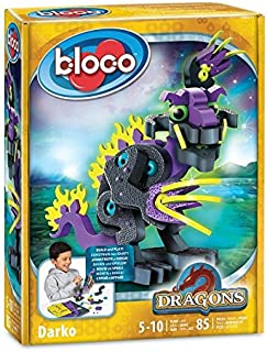 Bloco - Dragons Darko. Beginner Art and Craft kit for Kids/Toddlers. Creative Birthday Kid Stuff - SMU-30511