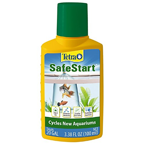 Tetra SafeStart, 3.38 Ounce, For Newly Set-Up Fish Aquariums