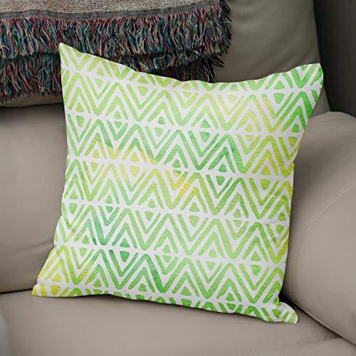 BonaMaison - Federa decorativa per cuscino, morbida, confortevole, per casa, auto, ufficio, divano, soggiorno, camera da letto, 43 x 43 cm, progettata e prodotta in Turchia.