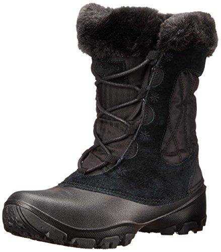 Columbia Women's Sierra Summette IV Snow Boot, Black, Grill, 8.5 B US