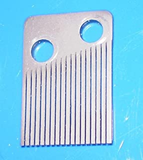 Odyssey Online Replacement Comb for Music Box Movement - - 18 Note Comb - - Fix That Music Box - - with Mounting Screws - - 18 Steel Tines - Sankyo and Many Others