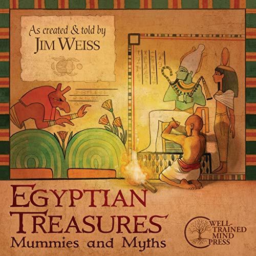 Egyptian Treasures Audiobook By Jim Weiss cover art