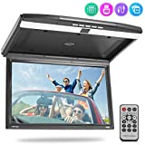 Best Pyle Flip Down Dvd Players - 15.6-Inch Overhead Flip-Down Car Monitor - Hi-Res 1680x800p Review