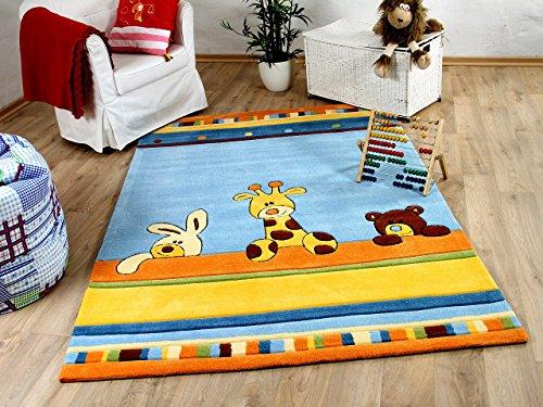 Lifestyle Kinderteppich Giraffe Blau in 3 Größen !!! Sofort Lieferbar !!!