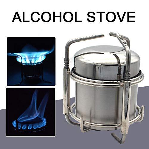 Maliyaw Estufa Alcohol multifunción Estufa portátil
