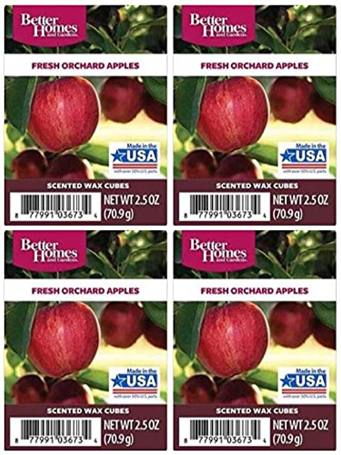 Better Homes and Gardens Fresh Orchard Apples Wax Cubes - 4-Pack f0776078474