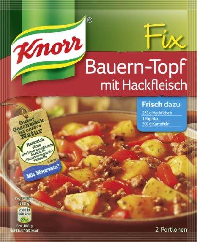 Knorr Fix Bauern-Topf mit Hackfleisch 2 Portionen (26 x 250 ml)