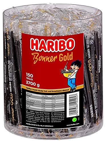 Haribo Bonner Gold Wurfmaterial, 150er Pack (150 x 18g)
