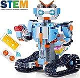 ICDOT Robot de Montaje Remoto Bloques de Control del Kit Inteligentes Ladrillos Stem RC Juguete eléctrico Educativo App Ingeniería Mejores 6,7,8-12 + Niños y Niñas niños y Regalo 351 Piezas Set