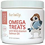 SKIN & COAT - Our Omega 3 for dogs, with EPA and DHA fatty acids, is an excellent dog skin and coat supplement as it helps produce the natural oils your dog needs to promote healthy skin, eliminate dog shedding, and get a soft, shiny coat. ALLERGY RE...