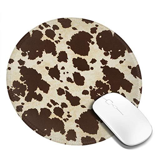 Alfombrilla de ratón antideslizante para escritorio, ordenador, PC y portátiles, alfombrilla de ratón redonda personalizada para oficina y hogar
