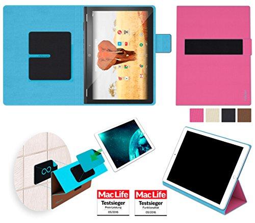 reboon Hülle für Archos 101 Magnus Plus Tasche Cover Case Bumper | in Pink | Testsieger