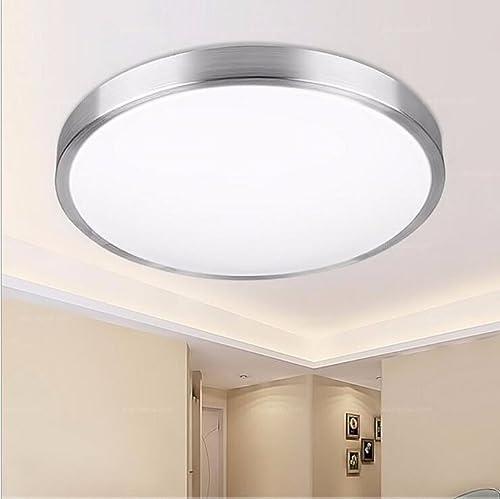 Plafonniers liwenlong Balcon Chambre à coucher lampe plafond LED lumière blanche de l'étude, 35cm