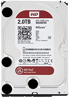 WD 2 TB NAS Hard Drive - Red (Refurbished)