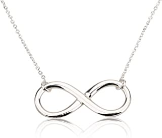 Infinity Pendant Sterling Silver Infinity Necklace