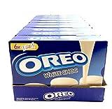 OREO white choc Oreo cubiertas de chocolate blanco galletas 246g (10 x 246g)