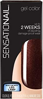 SENSATIONAIL Gel Polish, 0.25 oz, Espresso Bean