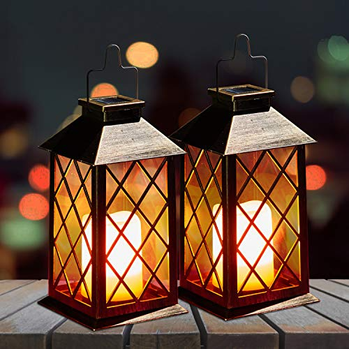 2 Pack Solar Lanterns