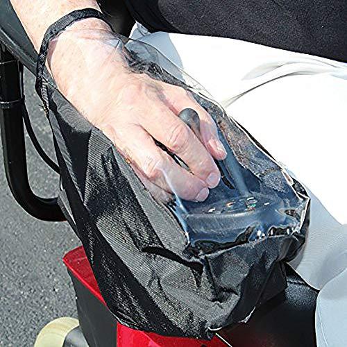 xiegons0 Rollstuhl-Joystick-Abdeckung,Abdeckung für Elektrorollstuhl-Bedienfeld,wasserdichte Abdeckung für die Stromversorgung des Rollstuhls,Schutzabdeckung für die Elektrorollstuhl-Steuerung