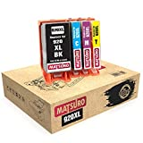 Matsuro Original | Compatible Cartuchos de Tinta Reemplazo para HP 920XL 920 XL (1 Set)