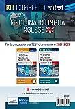 Test Medicina Inglese 2021: Kit completo. Con e-book e software di simulazione in omaggio