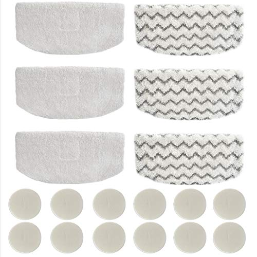 6 Pack 1152 Replacement Mop Pads Compatible with Bissell 1977N 1132N 11327 Vac & Steam 2-in-1 Vacuum Cleaner and Steam Cleaner