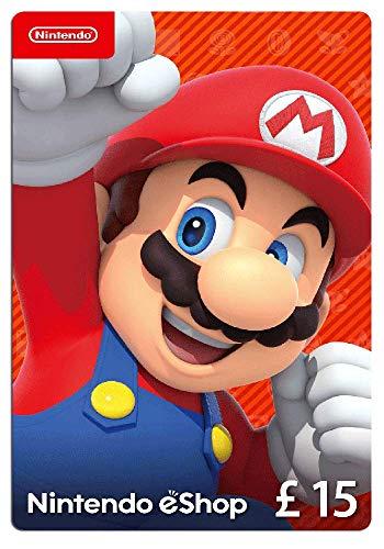 Nintendo eShop Card | 15 GBP voucher | Download C