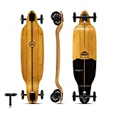 Glider Collection | Longboard Skateboards | Bamboo with Hard Maple Core | Large 100mm Wheels (Low Glider)