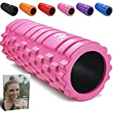 Rullo Massagio Foam Roller Trigger Point Grid Rullo in Schiuma Pilates - Rullo Massaggiatore di...