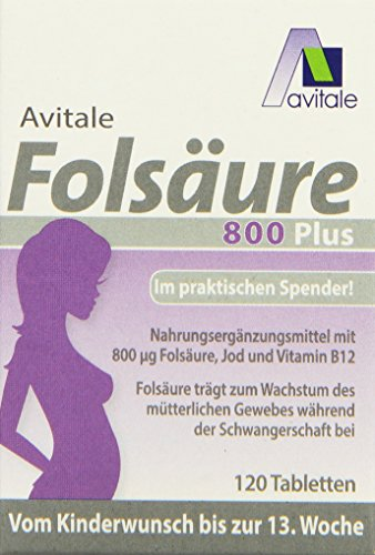 Avitale Folsäure 800 plus