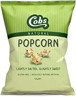 cobs Popcorn Natural Slightly Sweet Slightly Salty 120g