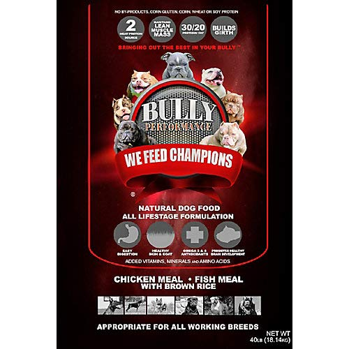 BULLY PERFORMANCE BP16932 All Life Stage Dog Food