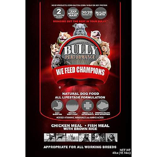 BULLY PERFORMANCE BP16932 All Life Stage Dog Feed Bag44; 40 lbs