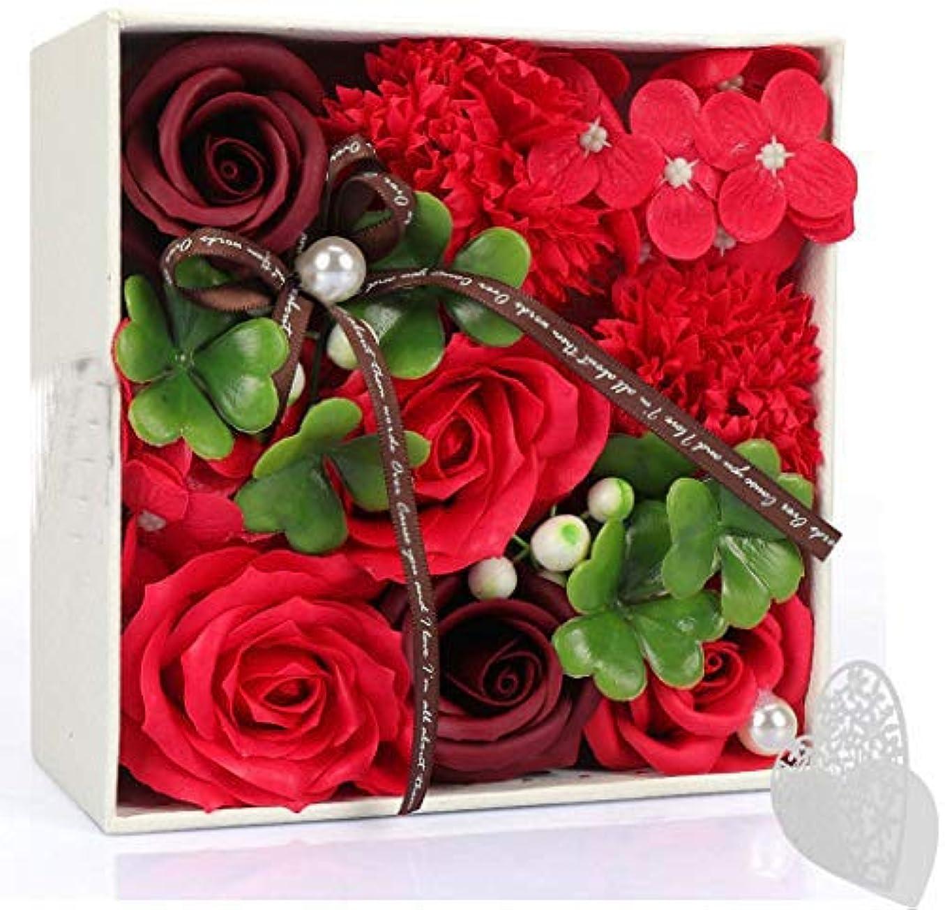 許される大使整理するソープフラワー フラワー 創意花かごギフトボックス 誕生日 記念日 母の日 先生の日 バレンタインデー 昇進 転居など最適としてのプレゼント