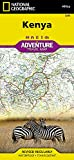 Kenya (National Geographic Adventure Map, 3205)