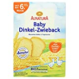 Alnatura Bio Dinkelzwieback, 6er Pack (6 x 200 g) -