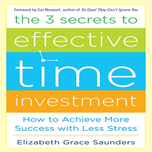The 3 Secrets to Effective Time Investment cover art