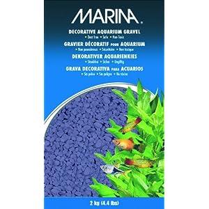 Marina Decorative Aquarium Gravel, 2 Kg, Purple
