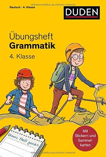 Übungsheft - Grammatik 4. Klasse (Übungshefte Grundschule)