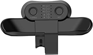 MAXKU PS4 背面ボタンアタッチメント 【2021最新発売】 背面パドル リコイル制御/連射 日本語取扱説明書(ブラック)