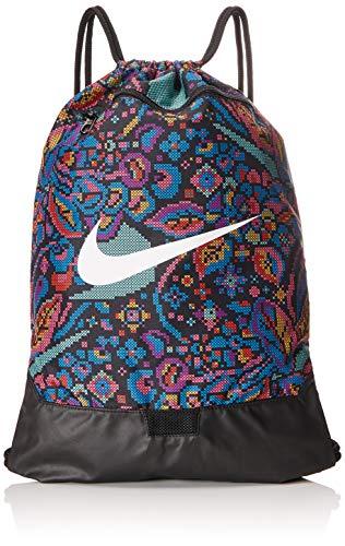 Nike GYM SACK BRASILIA UNISEX BA6049-010 - ÚNICA, BLACK/HYPER PINK/WHITE (010)