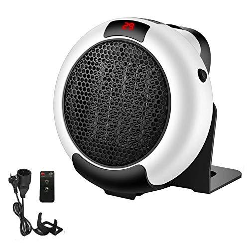 Calentador Mini Ventilador Eléctrico Portátil, Pared De Escritorio De 1000 W, Protección De Seguridad Tropical De 3 Segundos De Velocidad, Adecuado para Mascotas En El Baño De La of