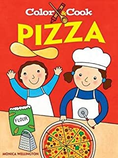 Color and Cook Pizza