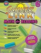 Summer Link Math plus Reading, Summer Before Grade 6