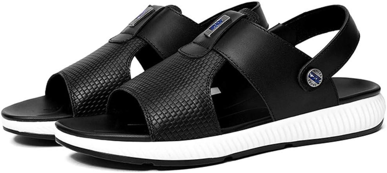 Chanclas Deportes Al Aire Libre Sandalias shoes para men Men's Summer Men's shoes Baotou Sandals Leather Sandals Beach shoes Fashion Wear Casual Breathable
