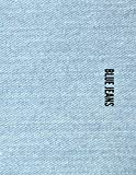 Blue Jeans : Notebook lined paper 8.5 x 11 - 100 pages...