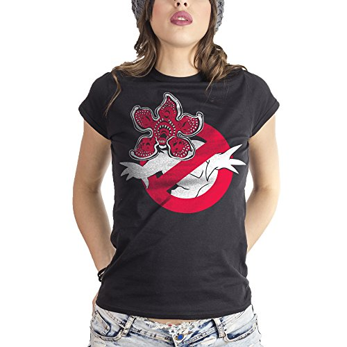 MUSH Eighteen Clothing T-Shirt S Donna Demogorgon Ghost Busters - Stranger Things by