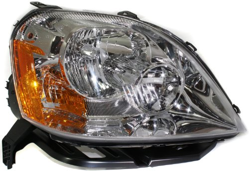 EvanFischer EVA135828377 Passenger Side Headlight Assembly Compatible with Ford Five Hundred