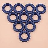 10 unids/lote sellos de aceite para recortadora STIHL FS240 FS240C FS240R FS240RC FS260 FS260C FS260R FS260RC FR410C FR460TC