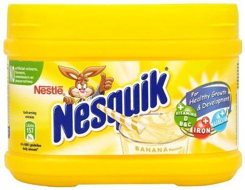 Nestle Nesquik Banana Flavor Milk Shake 300 G (1 box)-SET OF 2